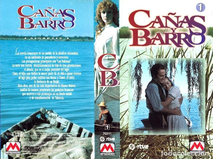 Cine: VHS - MINI SERIE COMPLETA - CAÑAS Y BARRO - José Bódalo, Victoria Vera, Rafael Romero Marchent - Foto 7 - 118579059