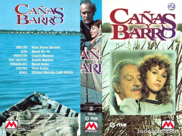 Cine: VHS - MINI SERIE COMPLETA - CAÑAS Y BARRO - José Bódalo, Victoria Vera, Rafael Romero Marchent - Foto 8 - 118579059