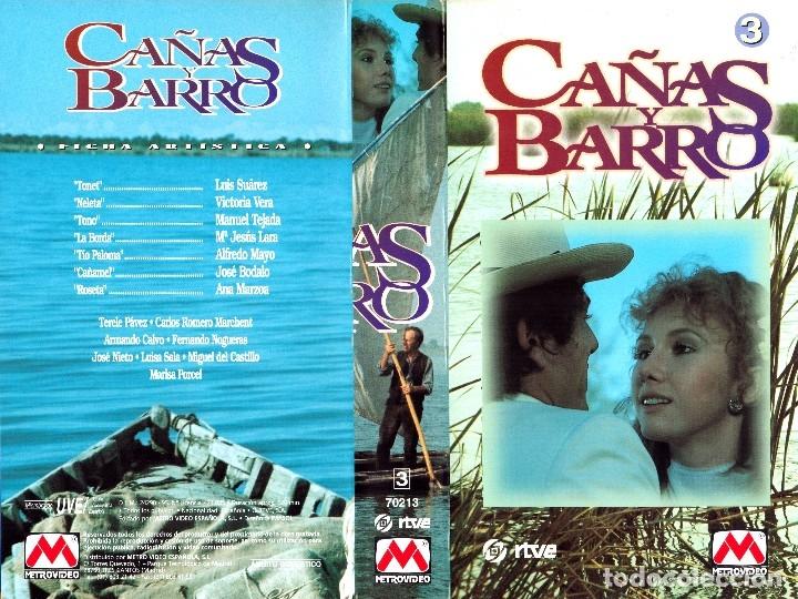 Cine: VHS - MINI SERIE COMPLETA - CAÑAS Y BARRO - José Bódalo, Victoria Vera, Rafael Romero Marchent - Foto 9 - 118579059