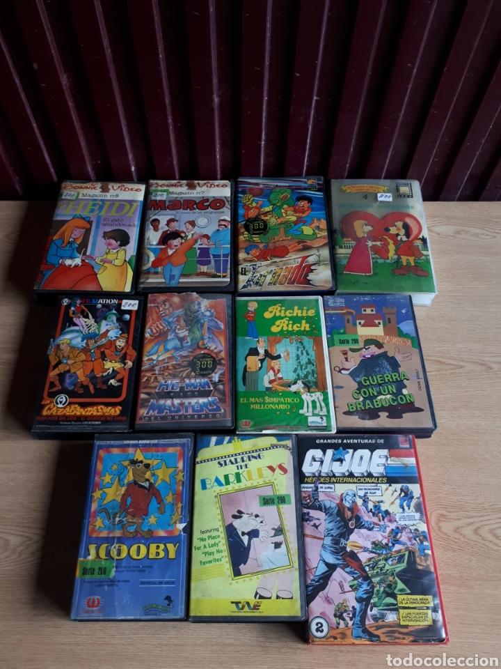 lote 11 películas miticas de dibujos animados h - Comprar Películas ...