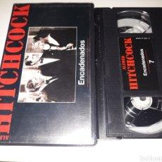 Cine: VHS- ENCADENADOS- ALFRED HITCHCOCK. Lote 120109110