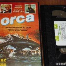 Cine: ORCA. LA BALLENA ASESINA - VHS. Lote 120114147