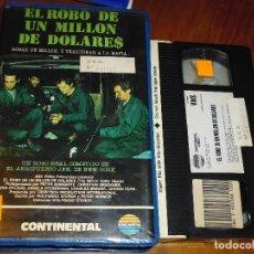 Cine: EL ROBO DE UN MILLON DE DOLARES - VHS - PEDIDO MINIMO 6 EUROS. Lote 120139379