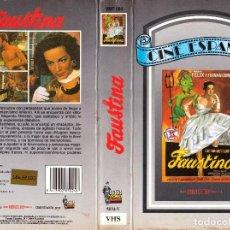 Cine: VHS - FAUSTINA - FERNANDO FERNÁN GÓMEZ, JOSÉ ISBERT, TONY LEBLANC, JOSÉ LUIS SÁENZ DE HEREDIA. Lote 120150583