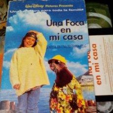 Cine: VHS UNA FOCA EN MI CASA. Lote 120264435