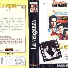 Cine: VHS - LA VENGANZA - CARMEN SEVILLA, RAF VALLONE, JUAN ANTONIO BARDEM - VIDA RURAL. Lote 120294963