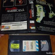Cine: PESADILLA AMERICANA - VHS. Lote 120417515