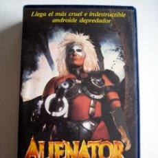 Cine: ALIENATOR (THE ULTIMATE TERMINATOR) • VHS 1ª EDICION. Lote 120700115