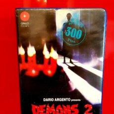 Cine: DEMONS 2: THE NIGHTMARE RETURNS - 1ª EDICIÓN OPALO FILMS. Lote 120747455
