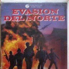 Cine: TODOVHS: EVASIÓN DEL NORTE (KEVIN DILLON, MARC PRICE, NED VAUGHN, CHRISTINE HARNOS) CAJA GRANDE. Lote 120824031