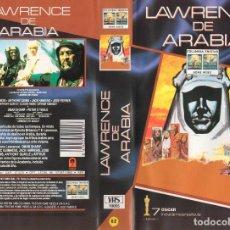 Cine: LAWRENCE DE ARABIA + LA LEY DEL SILENCIO + CIUDADANO KANE. Lote 120974335
