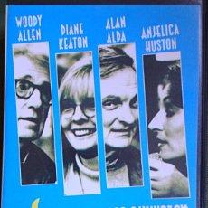 Cine: CINTA VHS MISTERIOSO ASESINATO EN MANHATTAN DE WOODY ALLEN. Lote 121012695