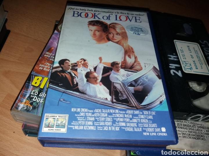 BOOK OF LOVE- VHS- TEEN MOVIE- DESCATALOGADA- CHRIS YOUNG - KEITH COOGAN (Cine - Películas - VHS)