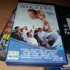 Cine: BOOK OF LOVE- VHS- TEEN MOVIE- DESCATALOGADA- CHRIS YOUNG - KEITH COOGAN. Lote 121055334