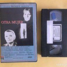 Cine: OTRA MUJER - WOODY ALLEN CINE VIDEO VHS. Lote 121081267