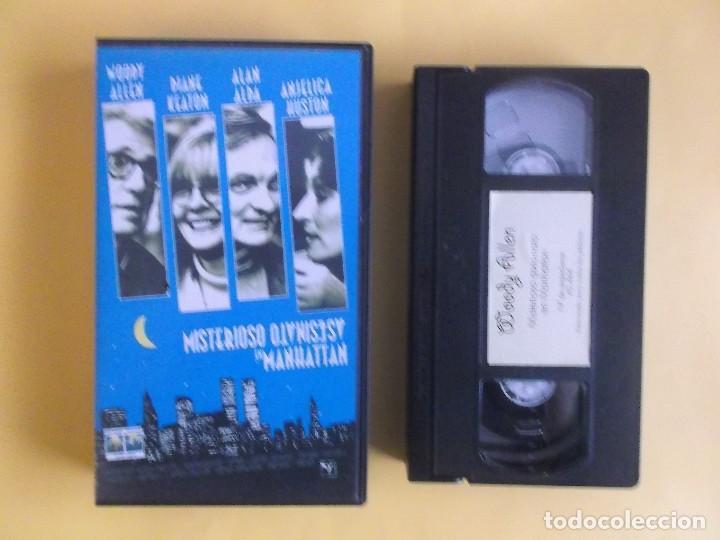 MISTERIOSO ASESINATO EN MANHATTAN - WOODY ALLEN CINE VIDEO VHS (Cine - Películas - VHS)