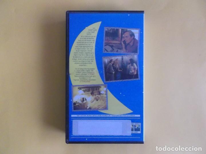 Cine: MISTERIOSO ASESINATO EN MANHATTAN - WOODY ALLEN CINE VIDEO VHS - Foto 2 - 121081399