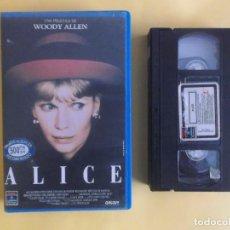 Cine: ALICE - WOODY ALLEN CINE VIDEO VHS. Lote 121081487