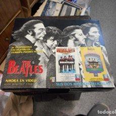 Cine: PELICULAS BEATLES VHS EB CAJA SUS DOS MEJORES. Lote 121168103