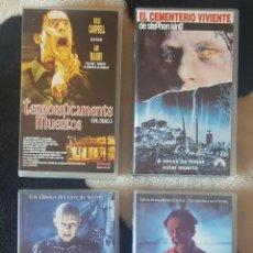 Cine: IMPRESIONANTE LOTE DE 52 PELICULAS VHS DE TERROR CIENCIA-FICCIÓN GORE AÑOS 1950S-80S. Lote 128409615