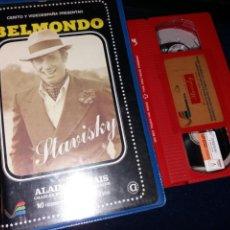 Cine: STAVISKY- VHS- JEAN PAUL BELMONDO- 1 EDICION. Lote 121473226