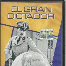 Cine: EL GRAN DICTADOR (CHARLES CHAPLIN). Lote 121551499