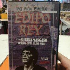 Cine: VHS EDIPO REY - PIER PAOLO PASOLINI. Lote 121652663