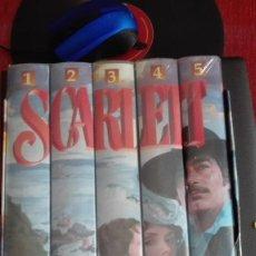 Cine: VHS METROVIDEO SCARLETT LO QUE EL VIENTO SE LLEVÓ PRECINTADO SERIE DE TELEVISION. Lote 121696915