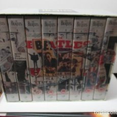 Cine: VHS - THE BEATLES - ANTHOLOGY - 8 PELÍCULAS DOCUMENTAL . Lote 121799943