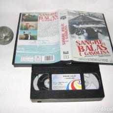 Cine - vhs sangre balas y gasolina - 121831299