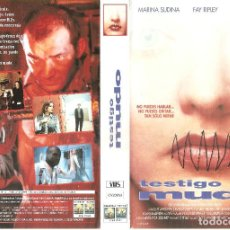 Cine: TESTIGO MUDO - ANTHONY WALLER 1995. Lote 122164007