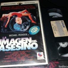 Cine: LA IMAGEN DEL ASESINO- VHS- MICHAEL IRONSIDE. Lote 122184662