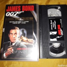 Cine: VHS- JAMES BOND CONTRA GOLDFINGER- SEAN CONNERY. Lote 122462206
