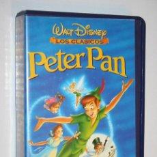 Cine: PETER PAN *** VHS CINE INFANTIL DIBUJOS ANIMADOS *** WALT DISNEY. Lote 122606107