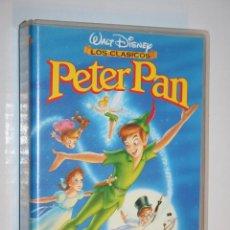 Cine: PETER PAN *** VHS CINE INFANTIL DIBUJOS ANIMADOS *** WALT DISNEY. Lote 122642847