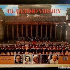 Cine: EL ULTIMO VIRREY CAJA DOBLE - TOM CLEGG - JANET SUZMAN. ESTUCHE DOBLE. Lote 122704491