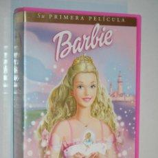 Cine: BARBIE: EL CASCANUECES *** VHS CINE INFANTIL DIBUJOS ANIMADOS *** UNIVERSAL. Lote 122761367