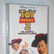 Cine: TOY STORY 2 *** VHS CINE INFANTIL DIBUJOS ANIMADOS *** WALT DISNEY. Lote 122767279