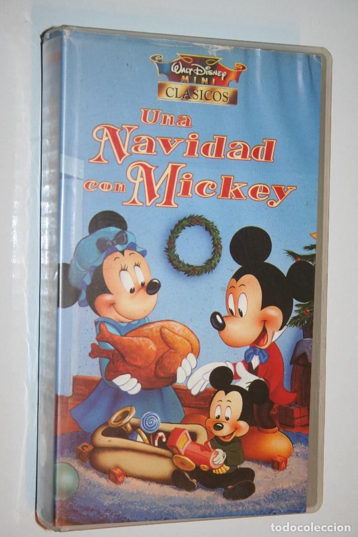 Peliculas Dibujos Animados De Navidad.Una Navidad Con Mickey Vhs Cine Infantil D Vendido En