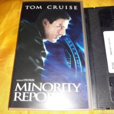 Cine: VHS- MINORITY REPORT- TOM CRUISE STEVEN SPIELBERG. Lote 178863898