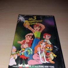 Cine: VHS - LOS TRES MOSQUETEROS DEL ESPACIO - ANIME / MANGA / ANIMACIÓN - RAREZA¡. Lote 122794131