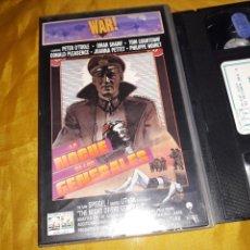 Cine: VHS- LA NOCHE DE LOS GENERALES- PETER O'TOOLE OMAR SHARIF. Lote 122810499