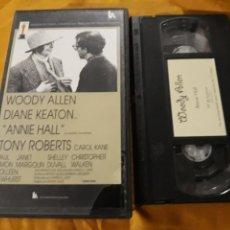Cine: VHS- ANNIE HALL- WOODY ALLEN DIANE KEATON. Lote 122814039