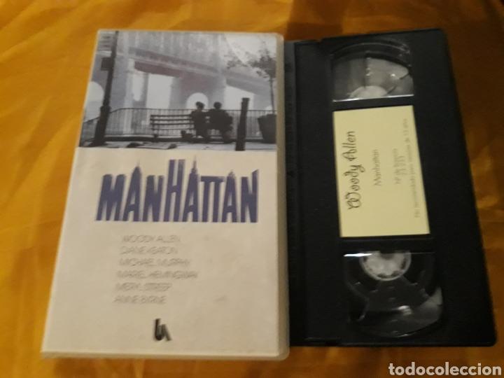 VHS- MANHATTAN- WOODY ALLEN DIANE KEATON (Cine - Películas - VHS)
