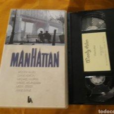 Cine: VHS- MANHATTAN- WOODY ALLEN DIANE KEATON. Lote 122814287