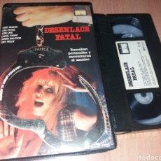 Cine: DESENLACE FATAL- 1987 SHALLOW GRAVE - VHS- DIR: RICHARD STYLES- DESCATALOGADA- TERROR PSCOLOGICO. Lote 122869124