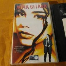 Cine: VHS- ALMA GITANA- PEDRO ALONSO AMARA CARMONA KETAMA- UNICA EXCLUSIVA. Lote 174128922