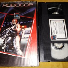 Cine: VHS- ROBOCOP- PAUL VERHOEVEN PETER WELLER (2). Lote 122912046