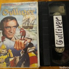 Cine: VHS- GULLIVER- RICHARD HARRIS- ZEPPELIN VIDEO. Lote 122913151