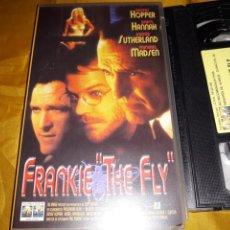 Cine: VHS- FRANKIE THE FLY- DENNIS HOPPER DARYL HANNAH. Lote 122914032